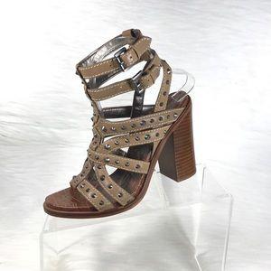 Sam Edelman Keith Ankle Strap Sandals Brown Size 8